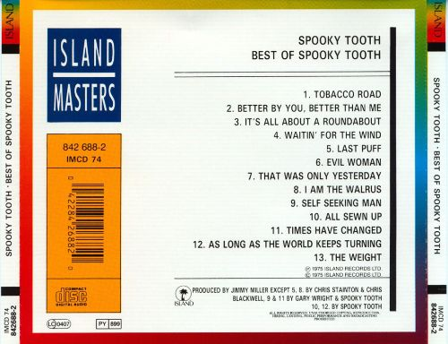 The Best of Spooky Tooth