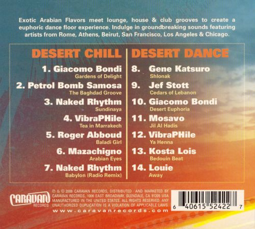 Electric Oasis, Vol. 2: Desert Chill