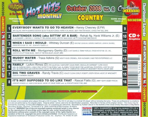 Hot Hits Country October 2008, Vol. 2