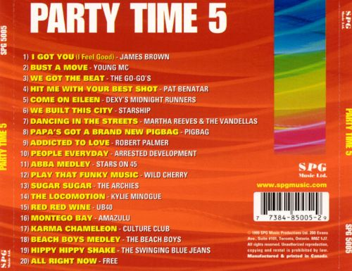 Party Time, Vol. 5