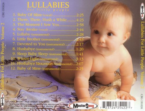 Lullabies for Little People, Vol. 2