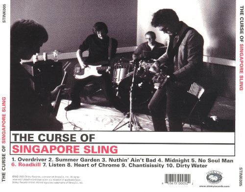 The Curse of the Singapore Sling - Singapore Sling | Songs, Reviews ...