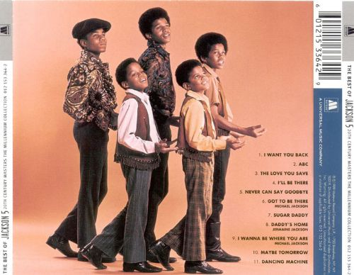 20th Century Masters: The Millennium Collection: Best of the Jackson 5 [Domestic Version]