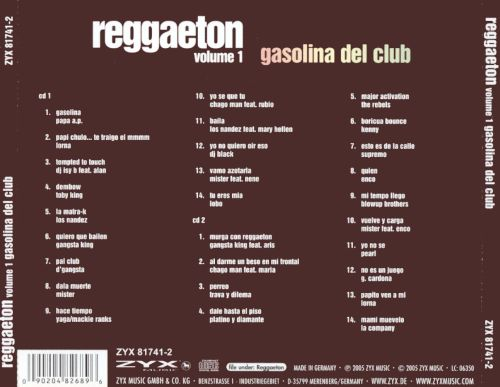 Reggaeton, Vol. 1: Gasolina del Club