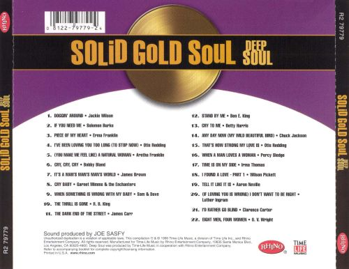 Solid Gold Soul: Deep Soul