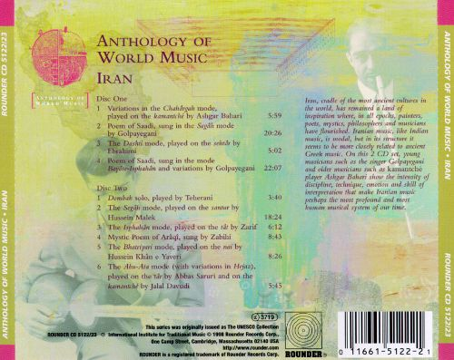 Anthology of World Music: Iran