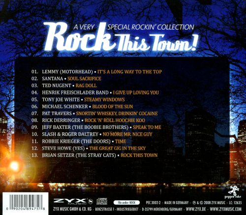 Rock This Town: A Very Special Collection