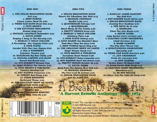 A Breath of Fresh Air: A Harvest Records Anthology, 1969-1974