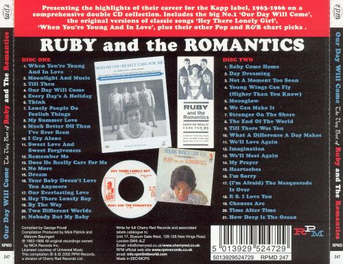 Image result for the very best of ruby the romantics