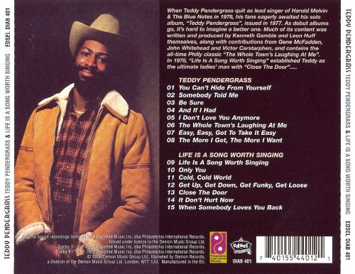 Teddy Pendergrass/Life Is a Song Worth Singing