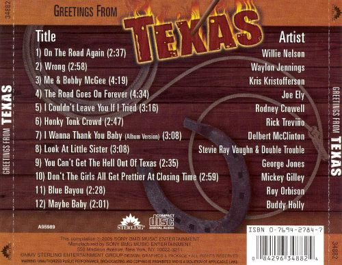 Greetings from Texas [2005]