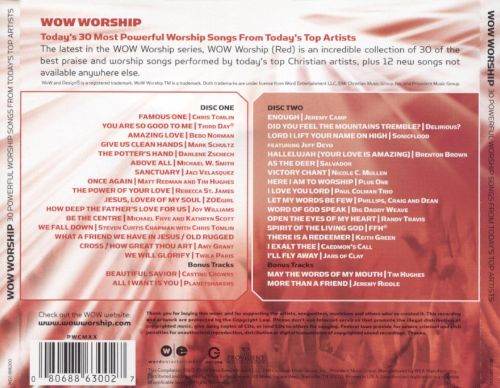WOW Worship: Red