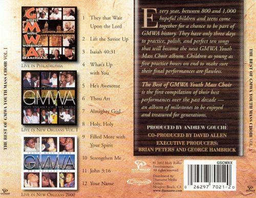 The Best of GMWA Youth Mass Choir