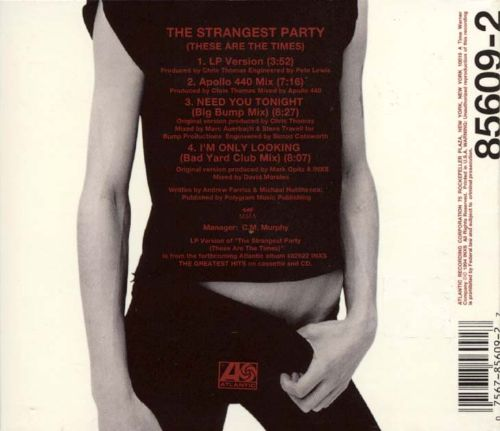 Strangest Party [CD Single]