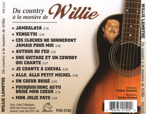 Du Country à La Manière de Willie
