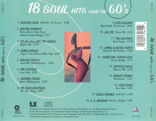18 Soul Hits from the '60s