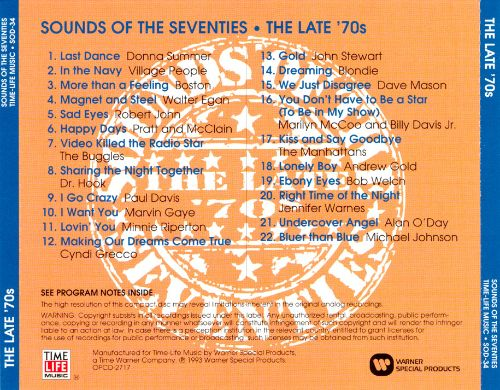 Sounds of the Seventies: The Late '70s