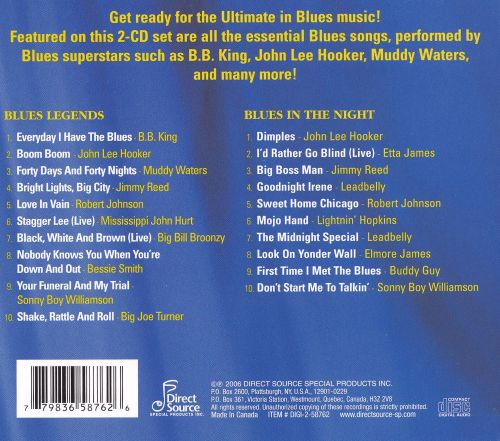 Blues Legends/Blues in the Night
