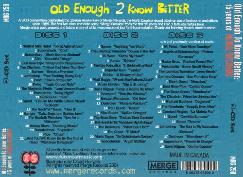 Old Enough 2 Know Better: 15 Years of Merge Records