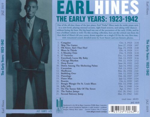 The Early Years: 1923-1942