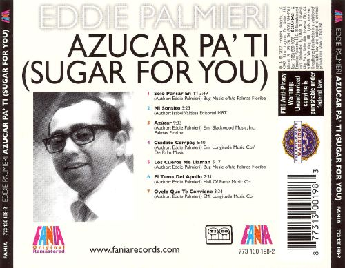 Azucar Pa' Ti (Sugar for You)