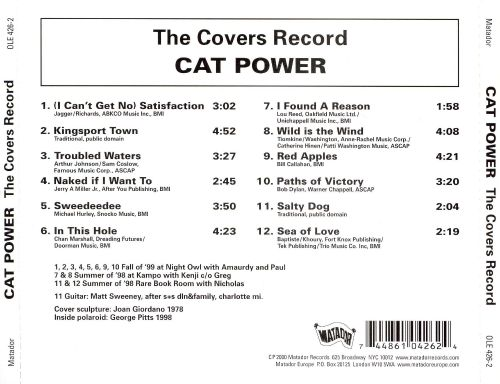The Covers Record