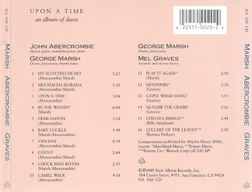 Upon a Time an Album of Duets