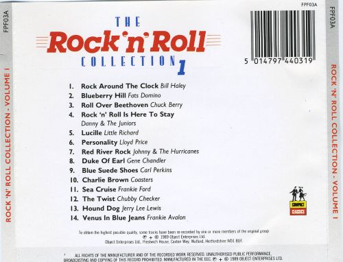 Rock 'n' Roll Collection, Vol. 1