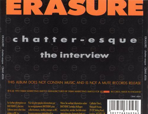 Chatter-esque Interview