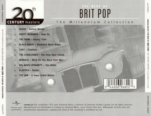 20th Century Masters - The Millennium Collection: The Best of Brit Pop