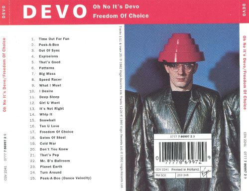 Oh, No! It's Devo/Freedom of Choice