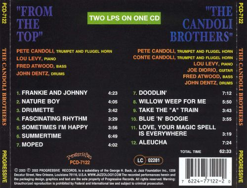 From the Top/The Candoli Brothers