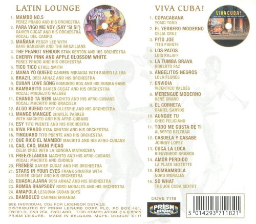 Latin Lounge: 41 Hot Latin Hits