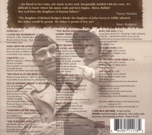 No Harm Done, Coquette: The Songs of Babbie Green & Johnny Green
