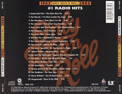 Only Rock 'N Roll 1965-1969: #1 Radio Hits
