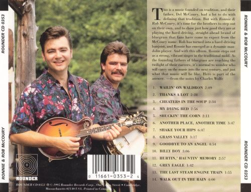 Ronnie & Rob McCoury