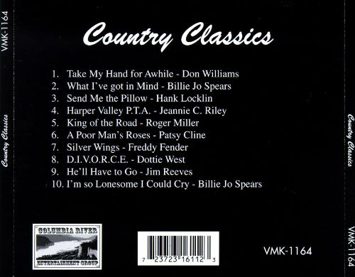 Country Classics [Columbia River 1164]