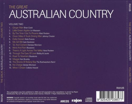 The Great Australian Country, Vol. 2