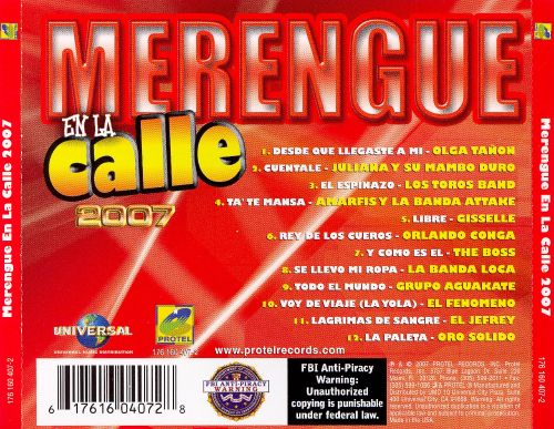 Merengue en La Calle 2007