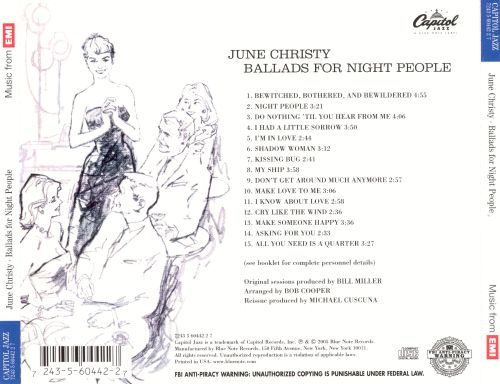 Ballads for Night People
