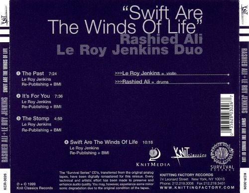 Swift Are the Winds of Life