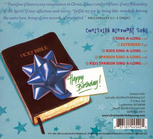 The Official Christian Birthday Song!