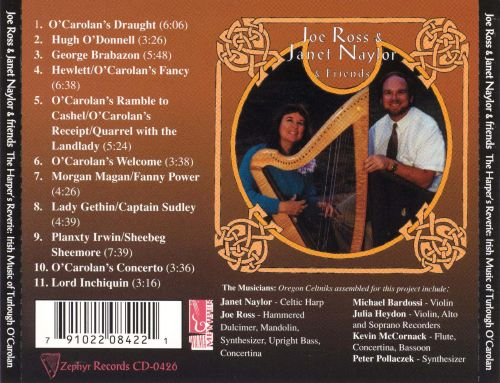 Harper's Reverie: Irish Music of Turlough O'Carolan