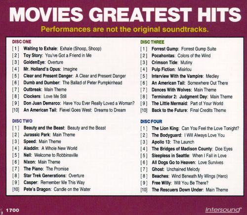 Movies Greatest Hits