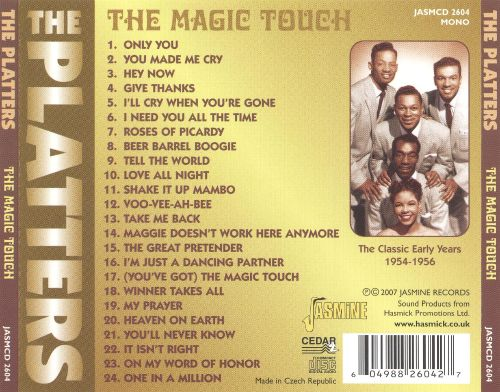 The Magic Touch: The Classic Early Years 1954-1956