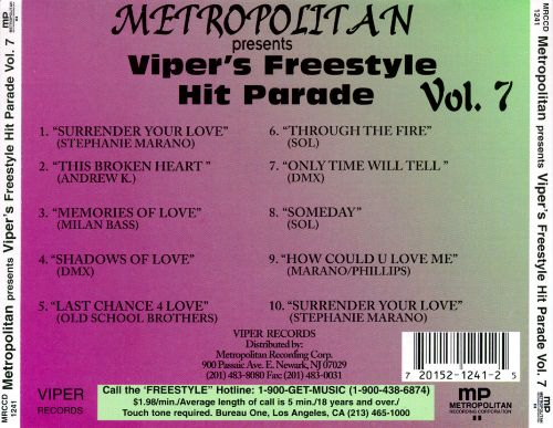 Viper's Freestyle Hit Parade, Vol. 7