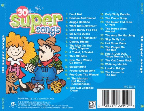 Superbudget Kids: Super Songs