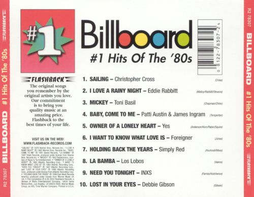 Billboard #1 Hits of the '80s