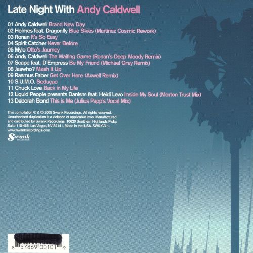 Late Night With Andy Caldwell