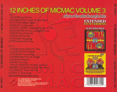 12 Inches of Micmac, Vol. 3